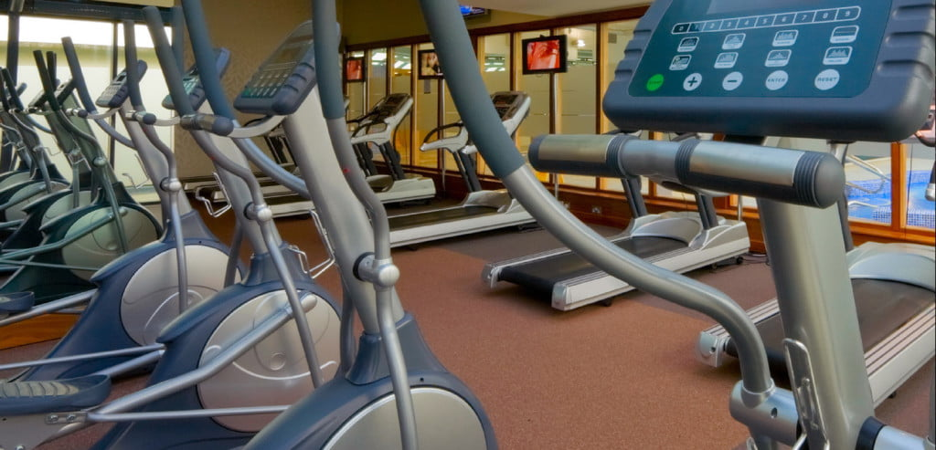 gym health club machines