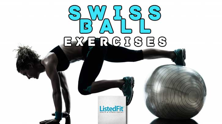 swiss ball exercises
