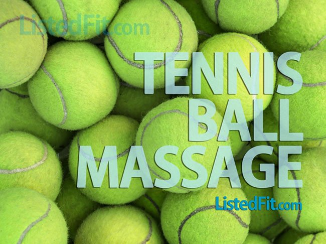 Massage With Tennis Ball tennis ball massage