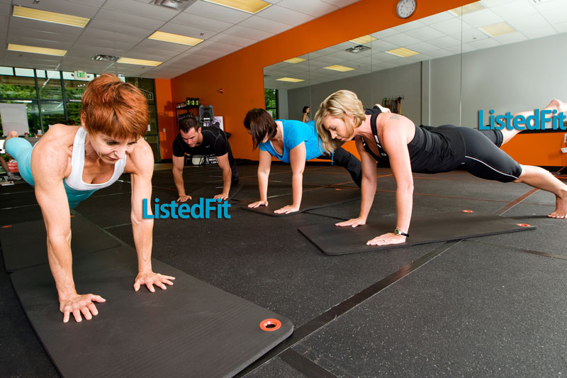 Pilates Class Exercise For Women Over 50