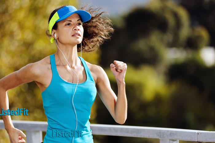 listen to music while exercising
