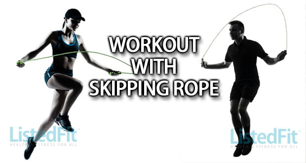 Workout With Skipping Rope