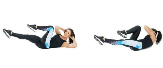 bicycle crunches most effective ab workouts