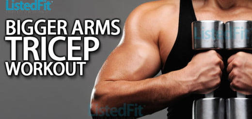 bigger arms tricep workout
