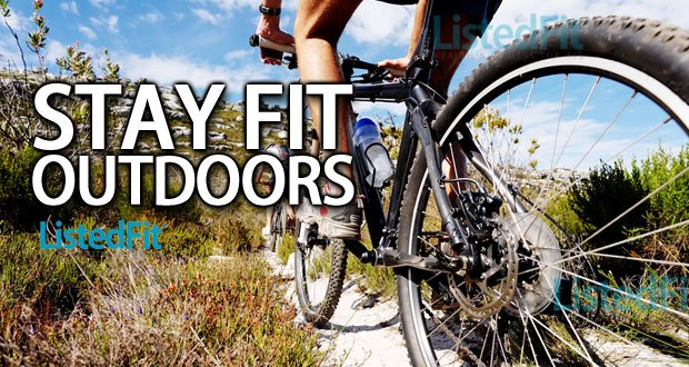 Top 4 Ways to Stay Fit Outdoors biking