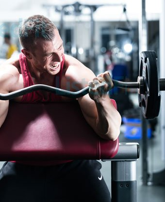 Bulk Without Getting Fat build muscle through intense workout