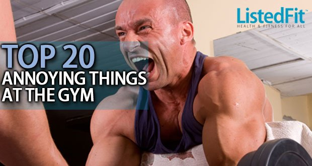 20 most annoying things at the gym