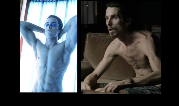 Christian Bale Celebrity Weight changes celebrity Weight Loss