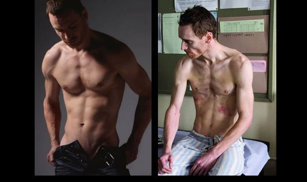 michael fassbender Celebrity Weight changes celebrity Weight Loss