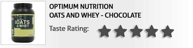 Top 3 Best Tasting Protein Powders oats and whey