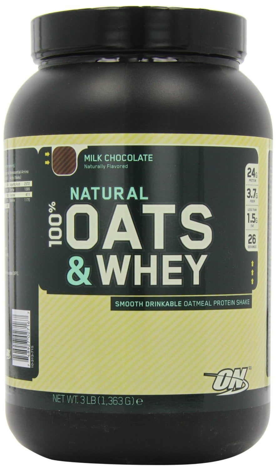 optimum nutrition oats and whey best tasting protein powders