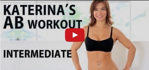 katerina popkova Beginner's ab workout