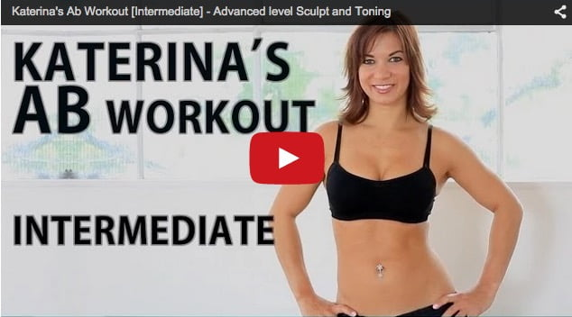 katerina popkova Advanced Ab Workout