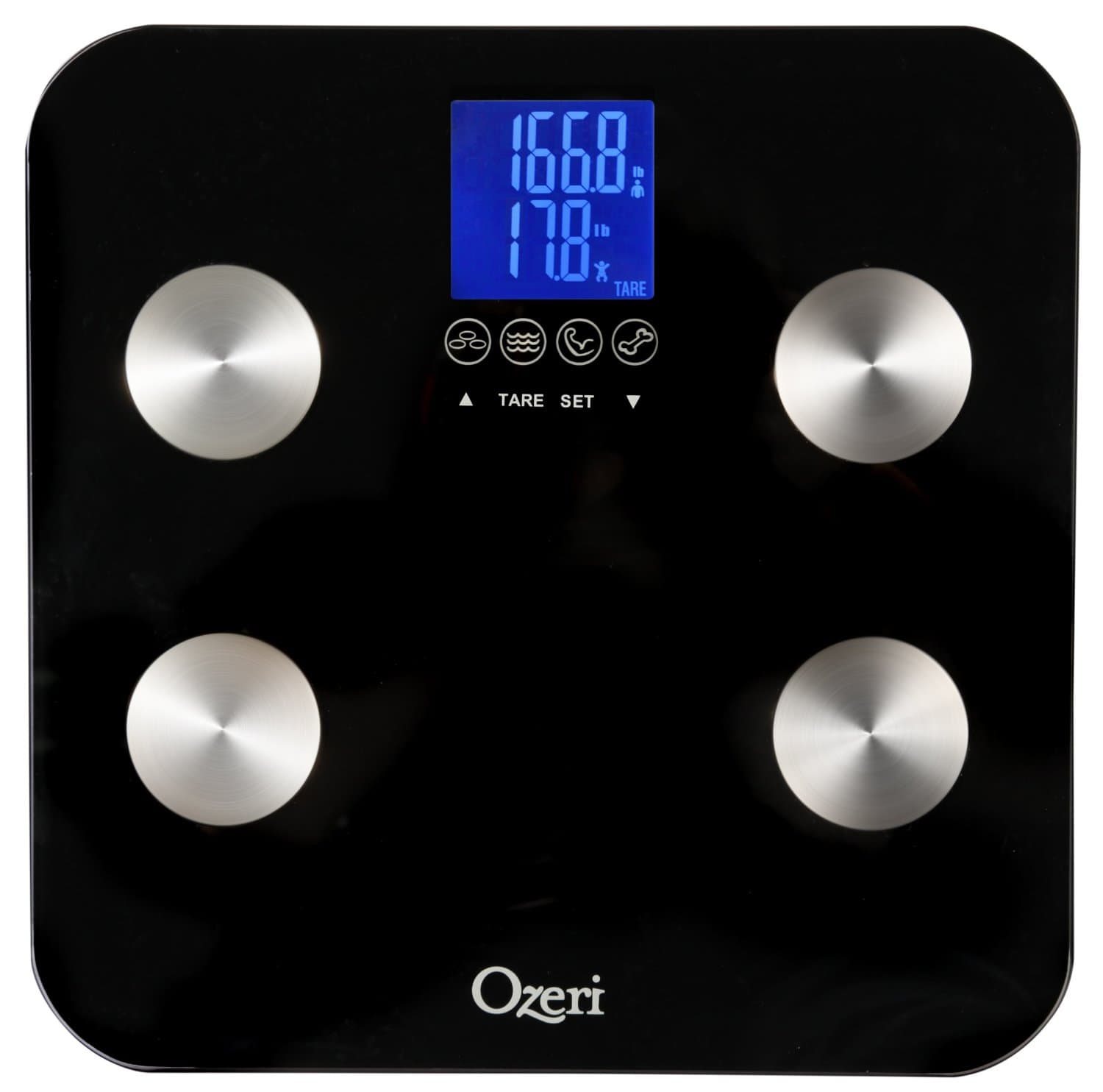 Ozeri Touch Best_Bathroom_Scales Best Bathroom Scales