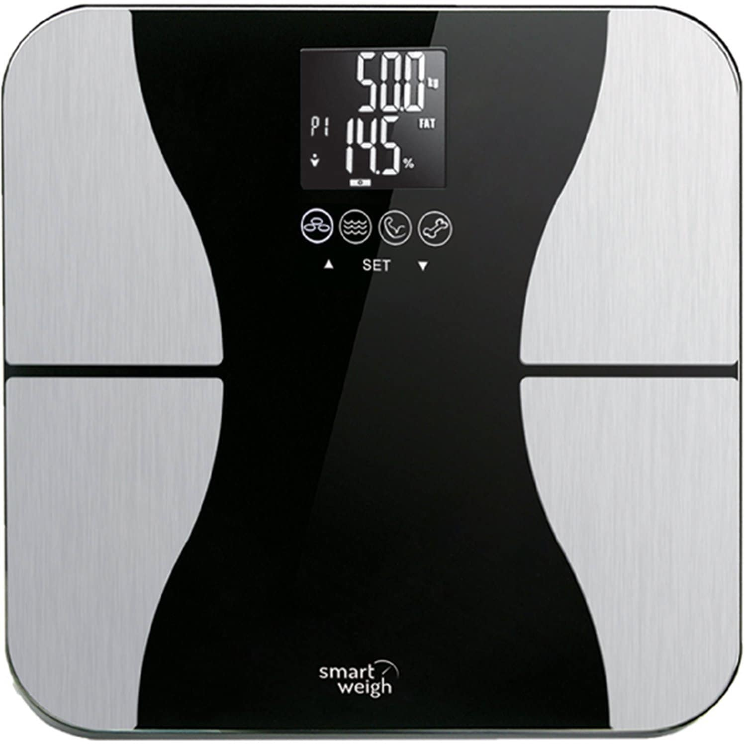 Smart Weigh Body Fat digital precision scale Best_Bathroom_Scales Best Bathroom Scales