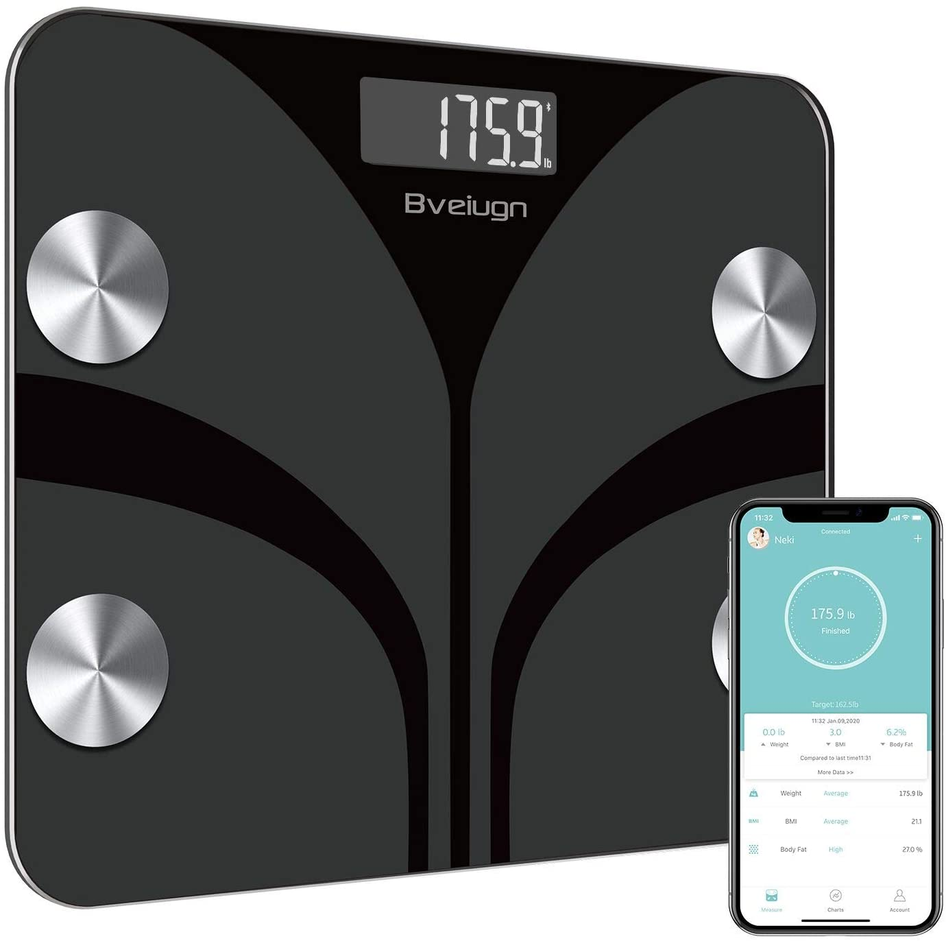Posture Body Fat Scale
